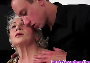 Chubby grandma fucked from behind validation bj