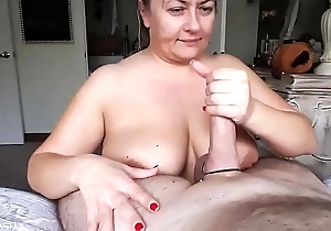 Chubby Old Gal With Big Beautiful Breasts