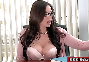 Big tits teacher and schoolgirl screwed at school 08