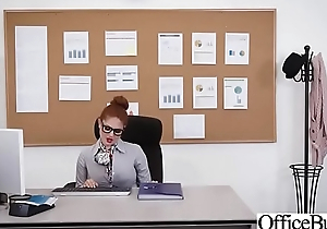 Office Sluty Girl (Lennox Luxe) With Big Round Boobs Banged Hard video-18