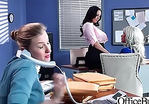 Office Sluty Girl (Ava Addams &amp_ Riley Jenner) With Big Concerning Boobs Banged Hard video-03