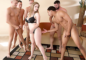 Lena Paul In chum around with annoy matter of chum around with annoy porn scene - Brazzers House sex down five