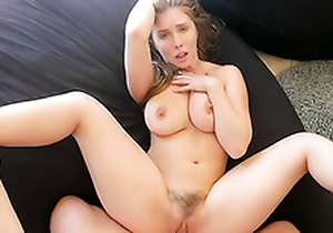 Bysty Sister Persuades Brother Into Oily Knocker Fuck  HD Lena Paul Porn