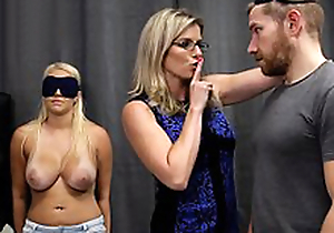 Cory Pursue & Vanessa Cage - Hot Sprog Tricked into a Threesome with Mom & Dad