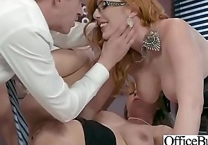 Hot Naughty Girl (Lauren Phillips &amp_ Lena Paul) With Chubby Boobs Fucks All over Office mov-16